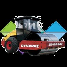 Продажа запчастей и фильтров на Каток Dynapac CA252D