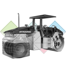Продажа запчастей и фильтров на Каток Dynapac CC422C
