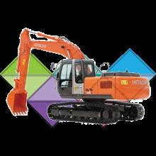 Продажа ходовых, катков, сегментов, траков, цепей и звездочек на экскаватор Hitachi EX200