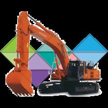 Продажа ходовых, катков, сегментов, траков, цепей и звездочек на экскаватор Hitachi EX300