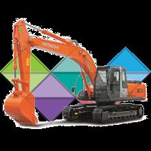 Продажа ходовых, катков, сегментов, траков, цепей и звездочек на экскаватор Hitachi ZX200