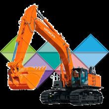 Продажа ходовых, катков, сегментов, траков, цепей и звездочек на экскаватор Hitachi ZX450