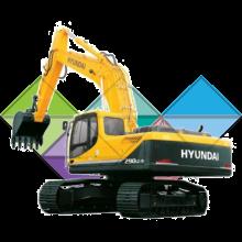 Продажа ходовых, катков, сегментов, траков, цепей и звездочек на экскаватор Hyundai R290