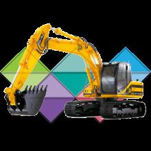 Продажа ходовых, катков, сегментов, траков, цепей и звездочек на экскаватор JCB JS180