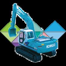 Продажа ходовых, катков, сегментов, траков, цепей и звездочек на экскаватор Kobelco SK300