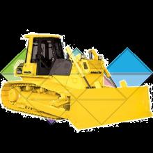 Продажа ходовых, катков, сегментов, траков, цепей и звездочек на бульдозер Komatsu D65P