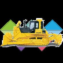 Продажа ходовых, катков, сегментов, траков, цепей и звездочек на бульдозер Komatsu D85A