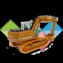 Продажа ходовых, катков, сегментов, траков, цепей и звездочек на экскаватор Liebherr R914